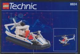 Plan  Lego Technic 8824  De 1993 - Plans