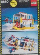 Plan Lego Technic 8680  Arctic Action  De 1986 - Plans