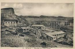 M'Sila Barrage De L' Oued Ksab No 4 1937 Edit Photo Africaines Electricité  Construction - M'Sila