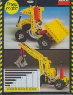Plan Lego Technic 8040  Pneu Matixc De 1984 - Planos