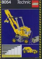 Plan Lego Technic 8054  De 1989 - Plans