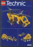 Plan Lego Technic   8062  De 1994 - Plans