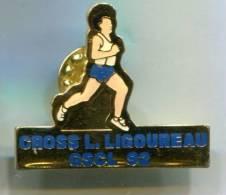 PINS SPORTS CROSS L. LIGOUREAU GSCL 92 - Athlétisme