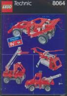Plan Lego Technic   8064  De 1990 - Plans