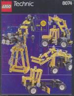 Plan Lego Technic   8074  De 1990 - Plans