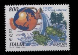 SItalie **  2494  -   Europa 2001  -  Lot  12 -  B7 - - 1946-.. République