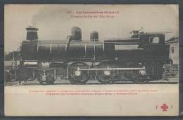 Chemins De Fer De L'Etat Belge - Locomotive Express à Voyageurs, Pour Fortes Rampes - FF 127 - Trains