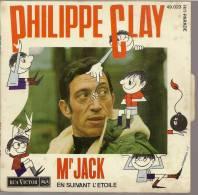 "45 Tours SP - PHILIPPE CLAY  - RCA 49023 -  "" Mr JACK"" +  1 - Vinyles"