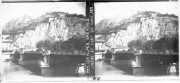 PP - 0064 - ISERE - GRENOBLE - L'Isére Et Fort Sainte Marie - Diapositivas De Vidrio