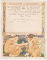 Belgique Telegramme Telegram -dessin Montald 27 - Lambillotte Beauvais, Plaine Saint Pierre. 1937 - Entiers Postaux