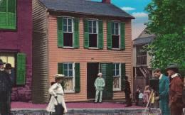Cpa Usa, Mark Twain At His Boyhood Home, Hannibal, Missouri, écrivain, Tom Sawyer - Etats-Unis