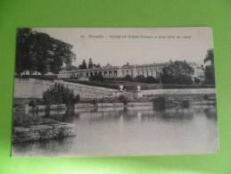 78-  Versailles Façade Du Grand Trianon Et Bras Droit Du Canal - Versailles