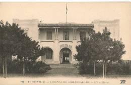 CPA-1920-TUNISIE-FERRYVIL LE-ARSENAL De SIDI-ABDALLAH-L ETAT MAJOR--TB E - Tunisie
