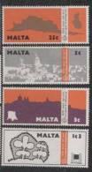 Malta Yvertnrs:509/12 Postfris - Malta