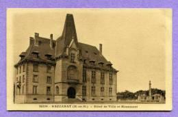 BACCARAT Hôtel De Ville Et Monument - Baccarat