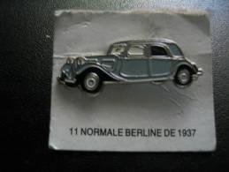 Pin´s Traction 11 CITROEN Normale Berline De 1937 - Citroën