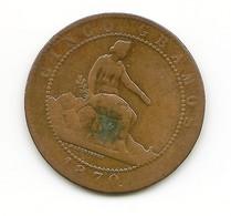 GOBIERNO PROVISIONAL  1870  5 CENTIMOS   NL059 - [ 1] …-1931 : Reino