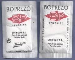 Suikerzakje - Boprezo. BP. Tenerife. Café Tirma. Sugar, Zuchero, Sachet De Sucre. Azucar. - Sugars