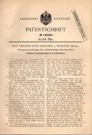Original Patentschrift - J. Suhr Schouboe In Rungsted , Dänemark , 1902 , Feuerwaffe , Pistole , Gewehr , Waffe , Pistol - Dokumente