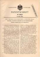 Original Patentschrift - J. Schouboe In Rungsted , Dänemark , 1902 , Feuerwaffe Mit Gleitendem Lauf , Pistole , Pistol ! - Ausrüstung