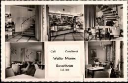 ! Rüsselsheim , Cafe Walter Menne 1958 - Ruesselsheim