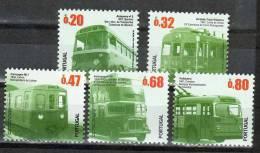 PORTUGAL Public Transport Series II Mint NH - Unused Stamps