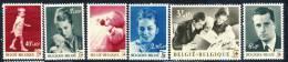 1963 Belgium Complete MNH Set Of 7 Stamps Red Cross Issue Michel 1322- 1328 - Belgium