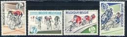 1963 Belgium Complete MNH Set Of 4 Stamps Bicycle Racing Issue Michel 1315- 1318 - Belgium
