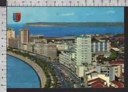R5526 LUANDA ANGOLA AVENUE DE PAULO DE NOVAIS Cartolina QSL - Angola