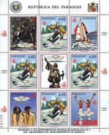Ref. 1219 * NEW *  - PARAGUAY . 1989. GAMES OF THE XXV OLYMPIAD. BARCELONA 1992. 25 JUEGOS OLIMPICOS VERANO BARCELONA 19 - Paraguay