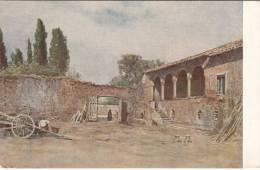 ROMA ANNI 30 SERIE ROMA SPARITA ACQUARELLI DI ROESLER -LOGGIA DELLA CASA DEL CARDINALE BESSARIONE - Unclassified