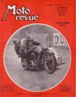 MOTO REVUE - N° 1034 - 26 MAI 1951 - ESSAI 650 BSA - MOTEUR DE LA 500 TERROT R.G.S.T. - VARIETES DU 2 TEMPS - Auto/Moto