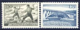 #C1619. Finland 1963. Michel 582-83. MNH(**) - Finnland