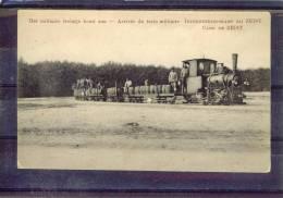 *CP Zeist.Arrivée Du Train Militaire. - Zeist