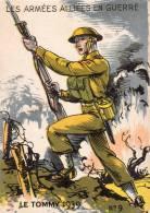 MILITAIRE INFANTERIE ANGLAISE LE TOMMY GUERRE 39 - 40  ILLUSTRATION - Weltkrieg 1939-45