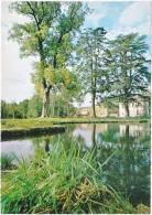 51. Cpsm. Gf. BAYE. Foyer De Charité. La Pièce D'eau. 15799 - Autres Communes