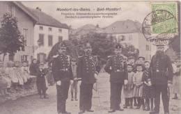 MONDORF LES BAINS Frontiere Allemande-Luxembourgeoise - Mondorf-les-Bains