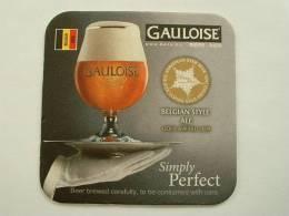 SOUS-BOCKS BIERE GAULOISE ALE  NEUF GOLD AWARD 2009 - Beer Mats