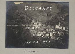 Alpes-Maritimes 06 - LUCERAM - Environs De Sospel - PHOTO ORIGINALE 1914 - Lieux
