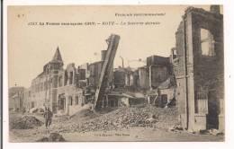 ROYE - 77 - La Sucrerie Détruite - 1917 - La France Reconquise - - France