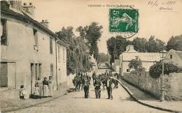 VEMARS - Route De Survilliers Avec Beau Plan Animé - Peu Courant - 2 Scans - France