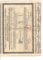 ACTION EMPIRE OOTOMAN RECEPISSE PROVISOIRE AU PORTEUR 1933 - Shareholdings