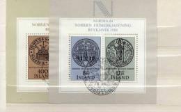 """Islande (1982-83) - Blocs """"NORDIA 84"""" Oblitérés - Island"""