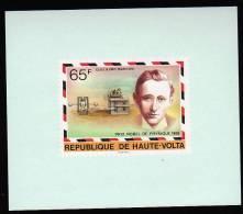 Guglielmo Marconi Nobelprice Winner On Luxe S/Sheet Haute-Volta Mnh. - Nobelprijs