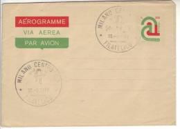 """1977 Italia Aerogramma 200 L. """"A"""" Tricolore FDC Non Viaggiato Aerogramme - Stamped Stationery"""