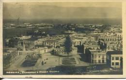 N°26113 -cpa Messina -panorama E Piazza Duomo- - Messina