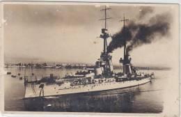 REGIA NAVE DUILIO  (Corazzata) /  Al Porto Di Napoli 10.12.1934 - Guerra