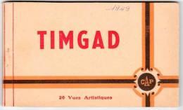 Carnet 20 Cpa De Timgad (ruines Romaines) - Algérie
