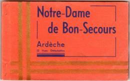 Carnet 12 Cpa Notre-Dame De Bon-Secours (vue Générale, Village, Basilique, ...) - France