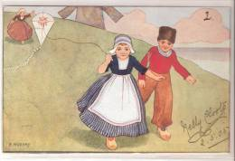 Kiting Children 1905 Kite Cerf Volant Used - Altre Illustrazioni